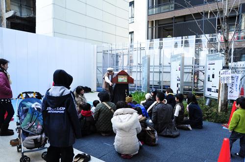 ナカメアルカス春祭り 目黒川桜